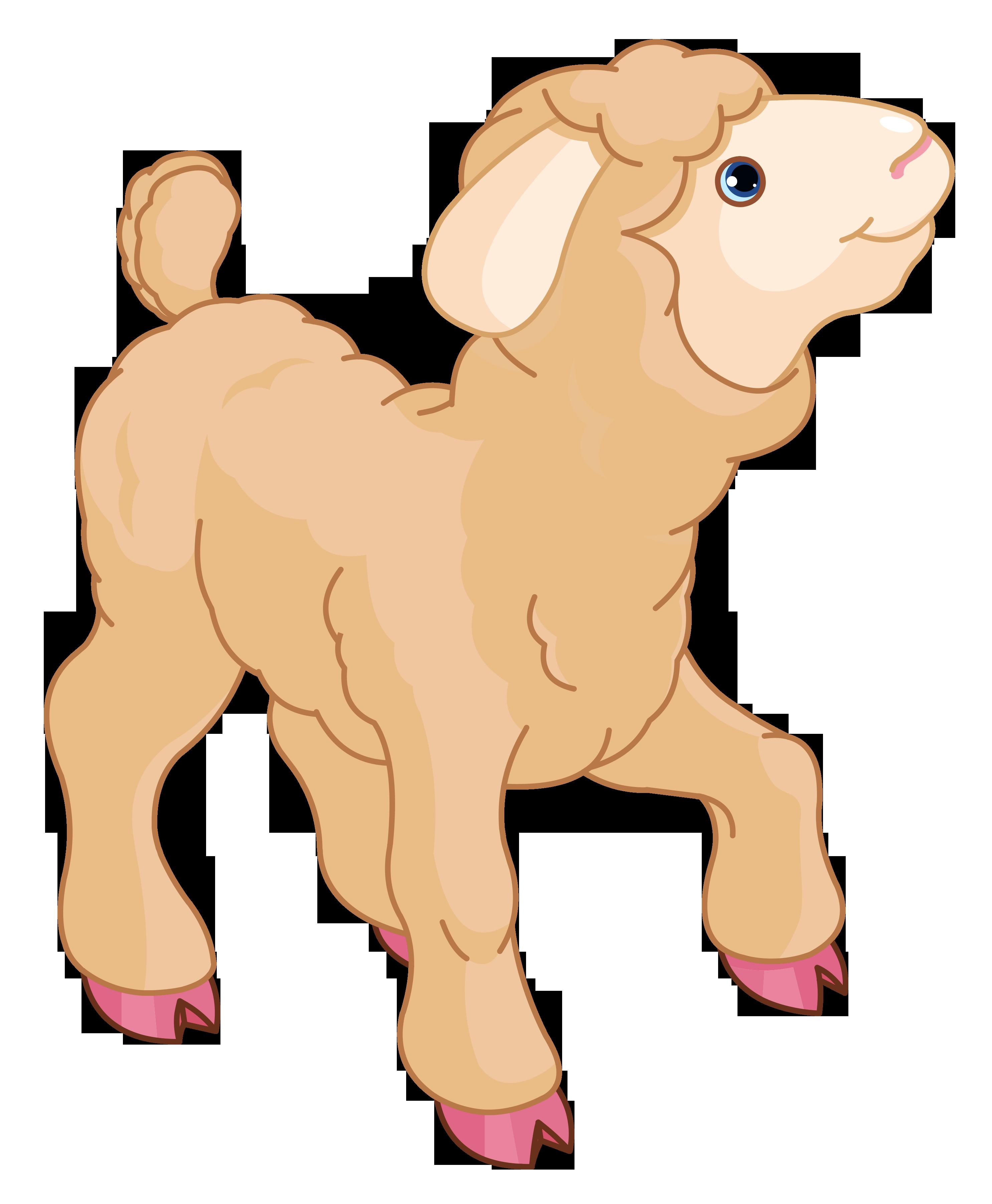 Little Lamb PNG Clipart - Baby Lamb PNG - Cute Lamb PNG HD