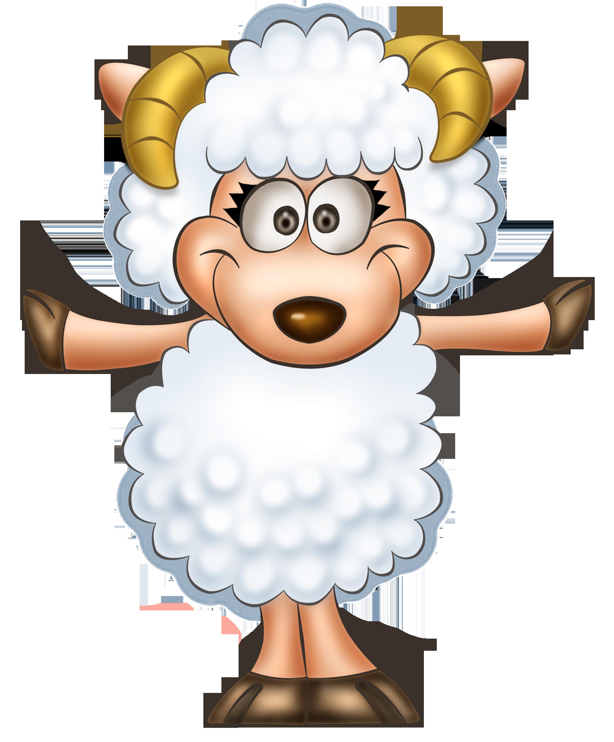 Transparent cute sheep clipart 0 - Cute Lamb PNG HD