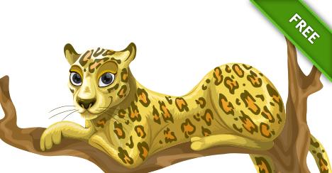 Cute Leopard PNG-PlusPNG.com-468 - Cute Leopard PNG