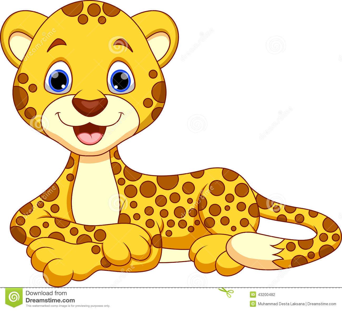 Cute Leopard PNG - 45822