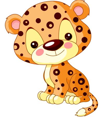 Leopard - Cute Leopard PNG