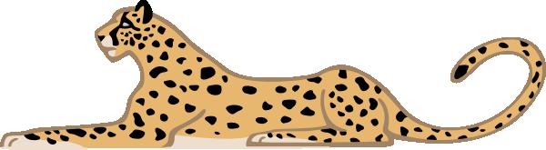 Leopard Clipart 23 - Cute Leopard PNG