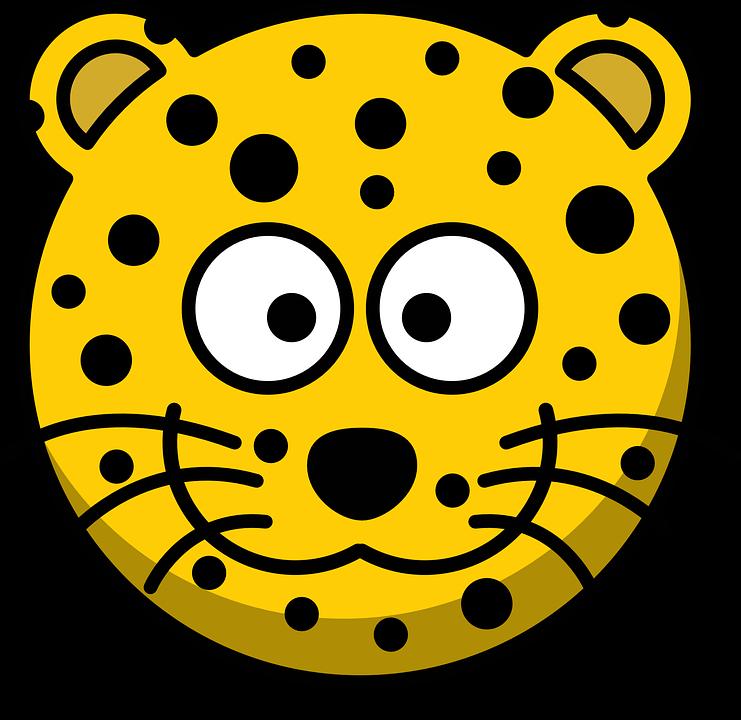 Cute Leopard PNG - 45825