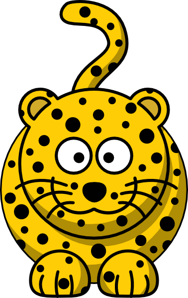 PNG: small · medium · large - Cute Leopard PNG