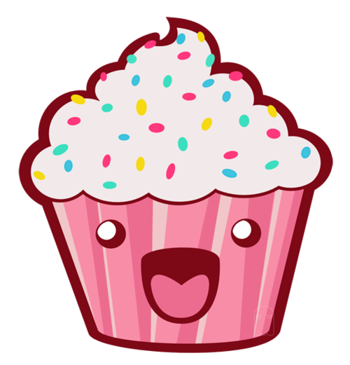 cupcake, cute, and kawaii image - Cute Muffin PNG