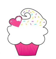 cute cupcake cartoon images | Cute Cupcake :) PNG by KatuuEdits00 - Cute Muffin PNG