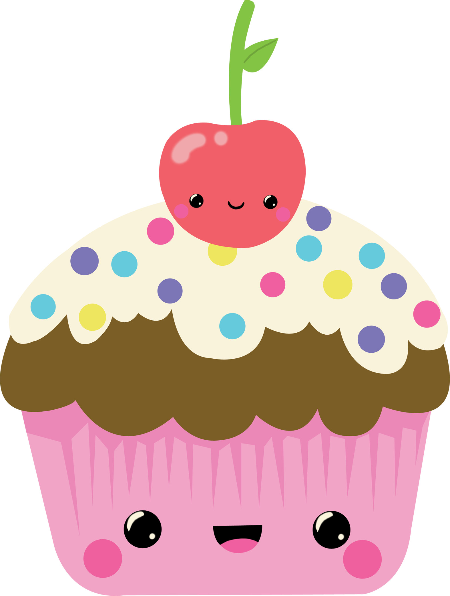 pin Muffin clipart kawaii #9 - Cute Muffin PNG