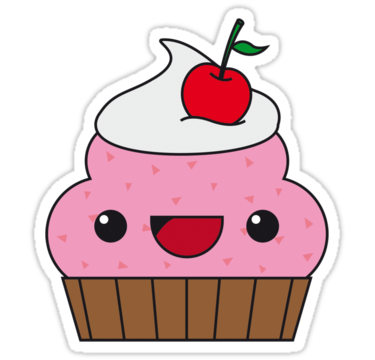 Sizing Information - Cute Muffin PNG
