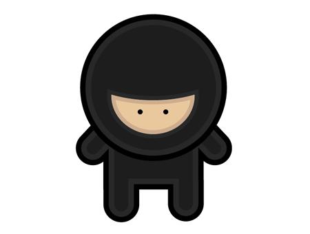 Cute Ninja PNG