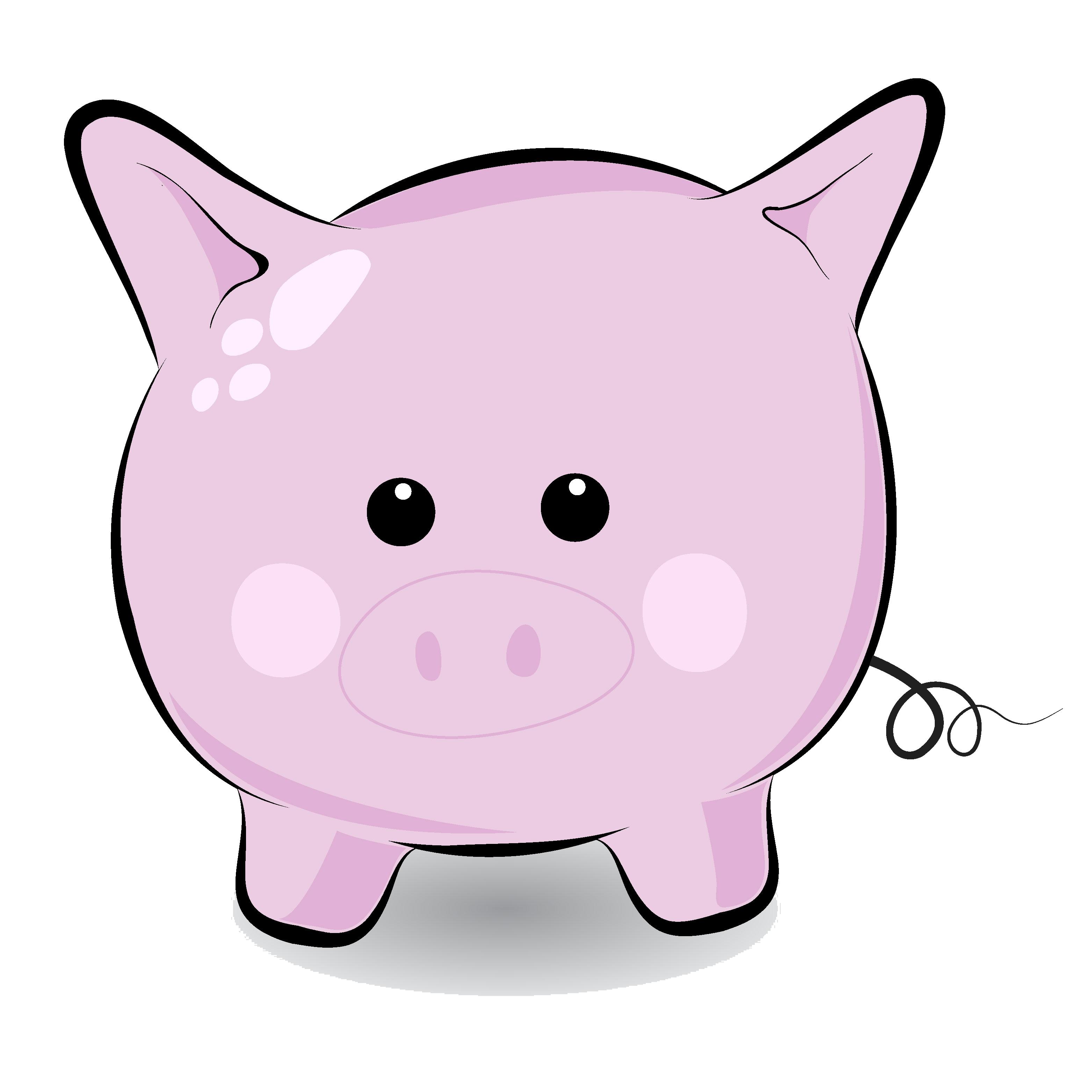 Cute Pig PNG HD - 122423