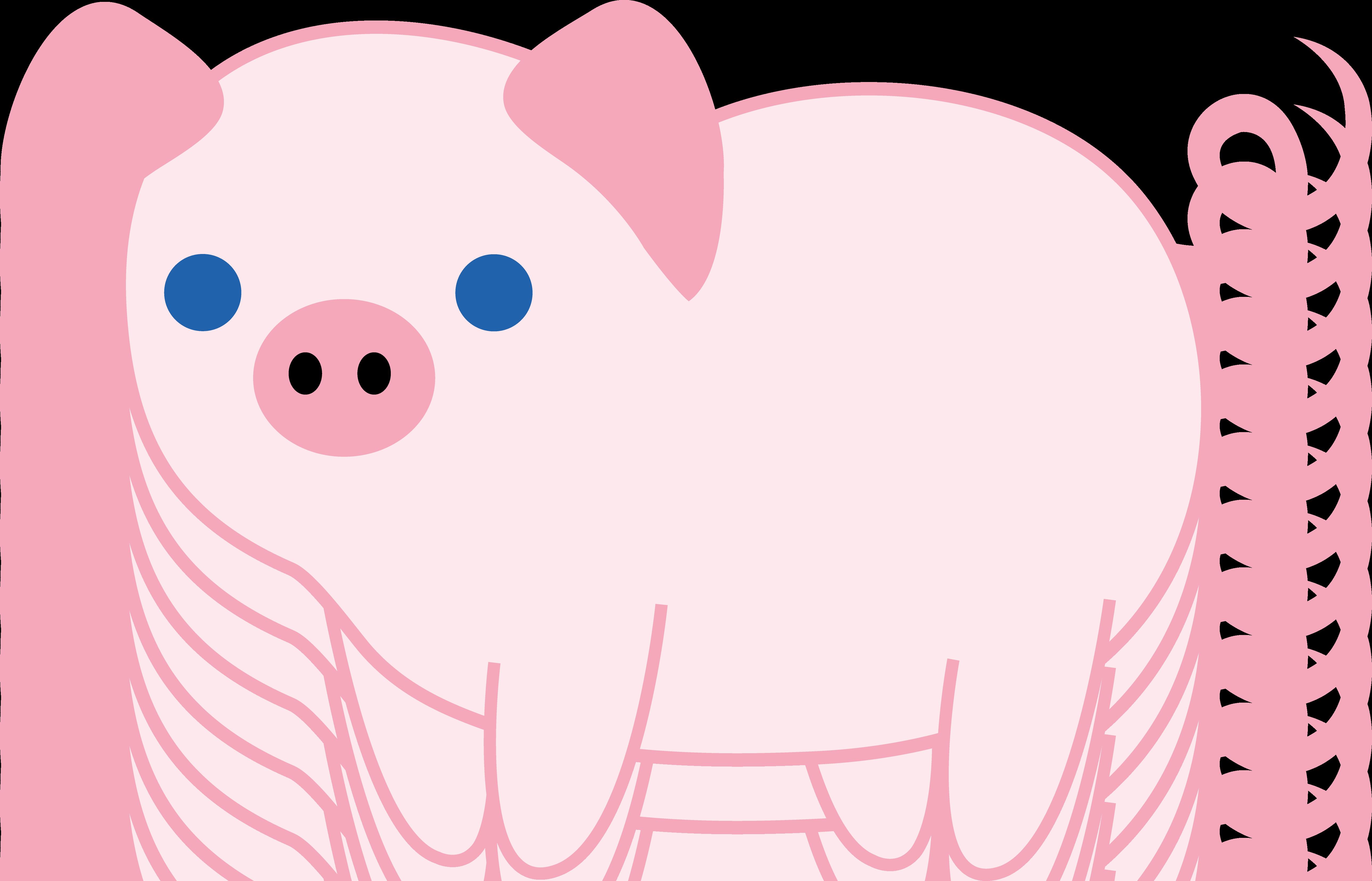 Cute Pig PNG HD - 122436