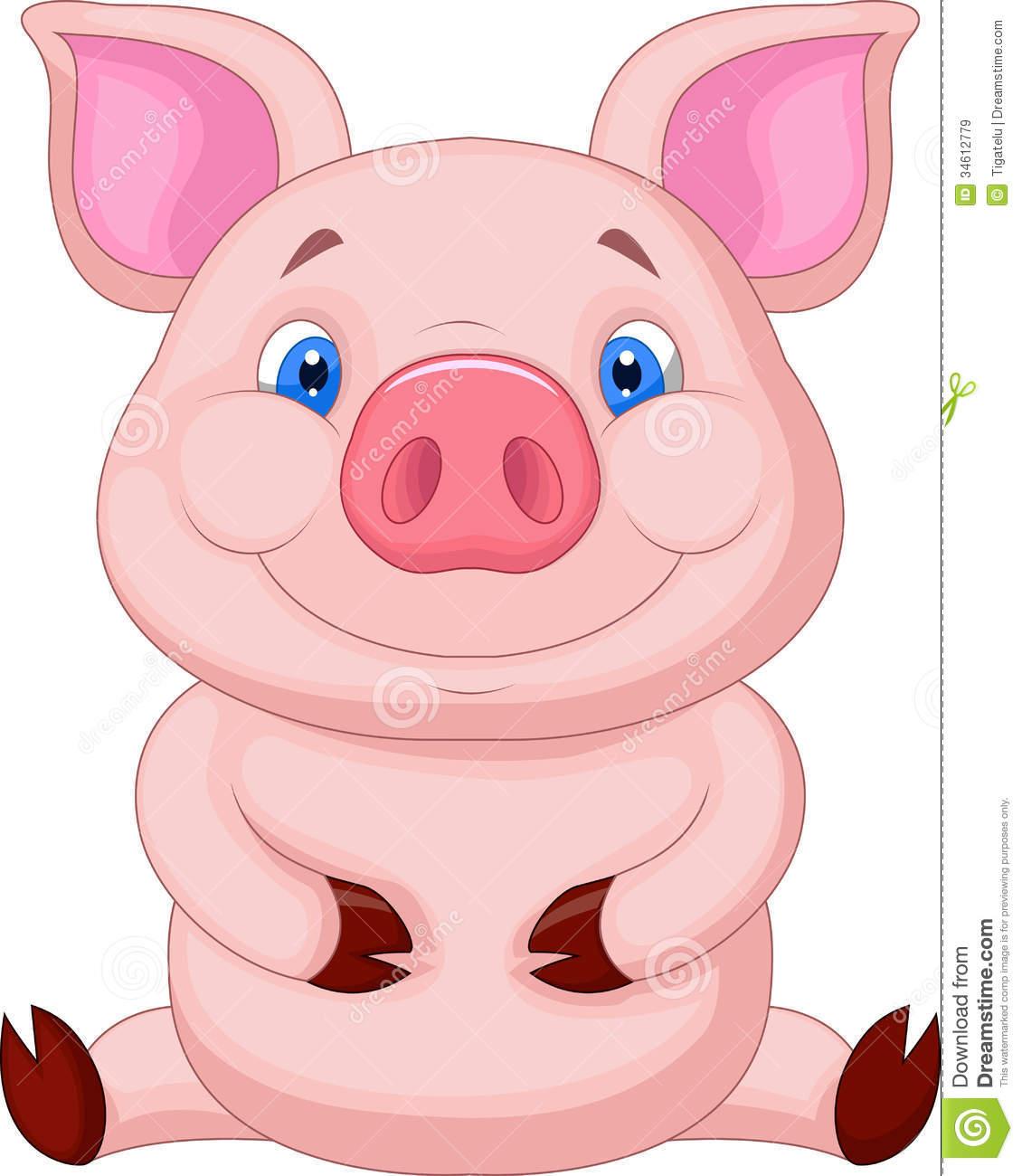 Cute Pig PNG HD - 122437