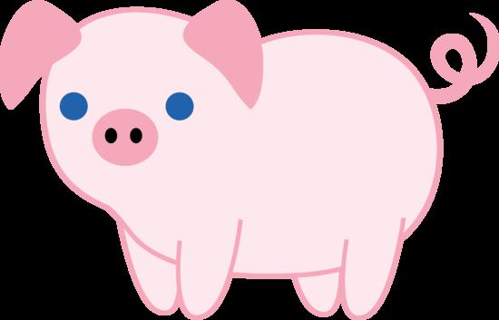 Cute Pig PNG HD - 122431