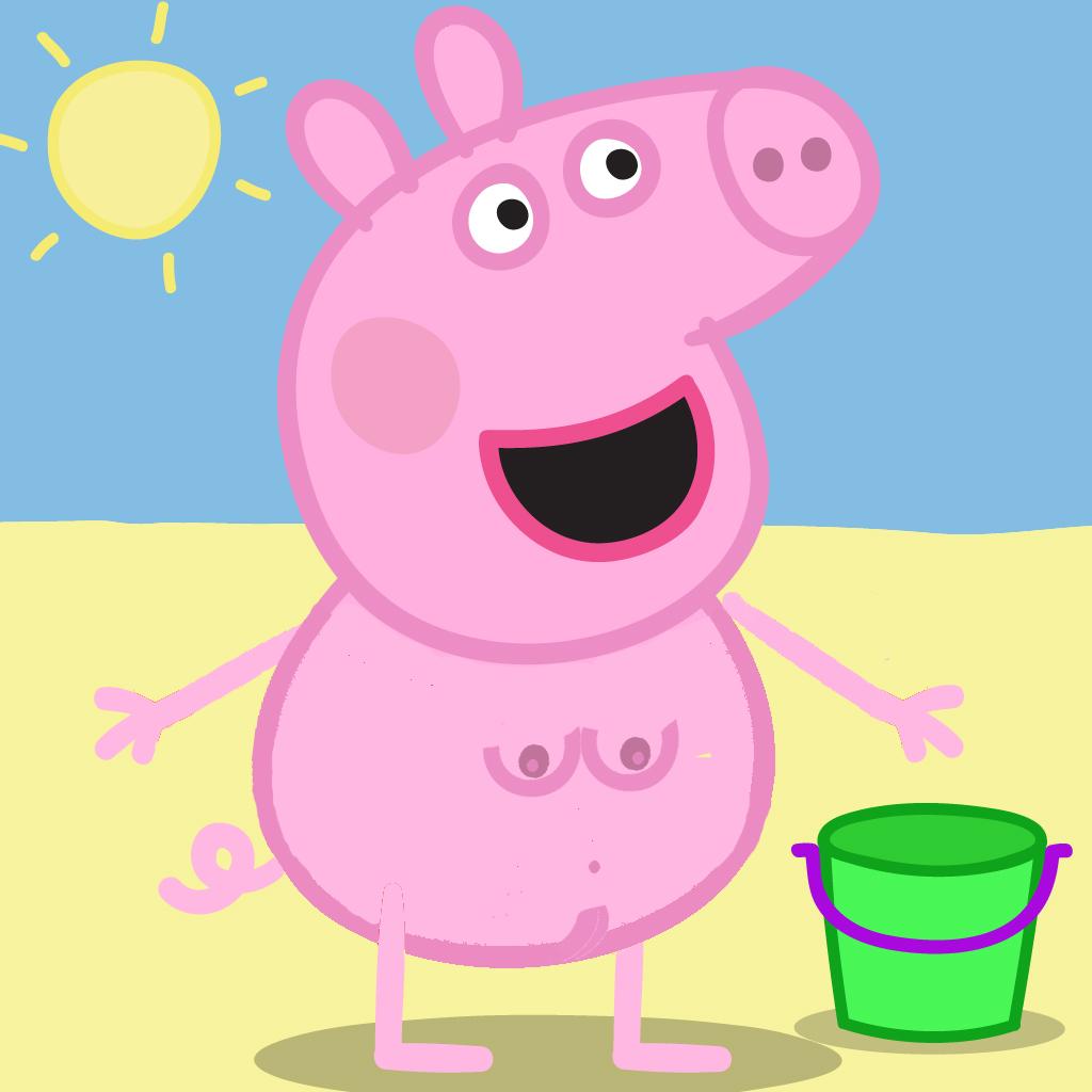 Cute Pig PNG HD - 122433