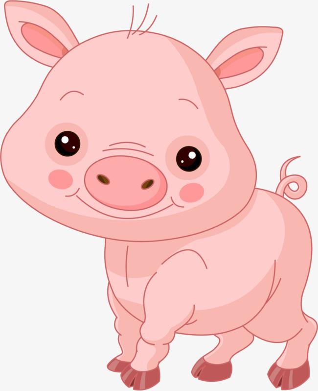 Cute Pig PNG HD - 122422