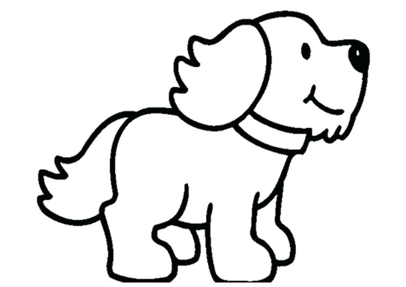 Cute Puppies PNG Black And White - 164207