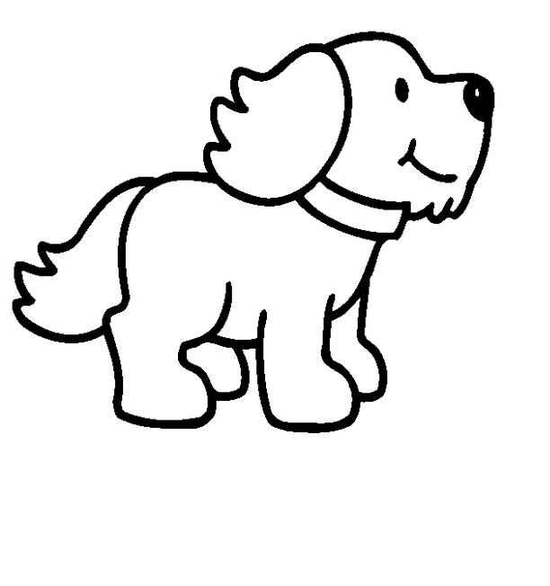 Cute Puppies PNG Black And White - 164213