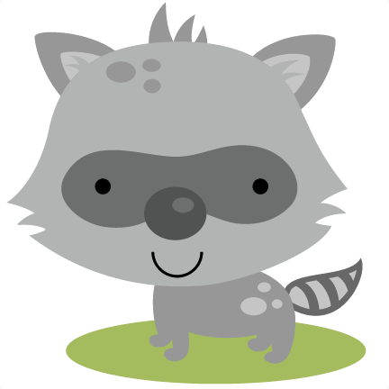 Cute Raccoon PNG HD