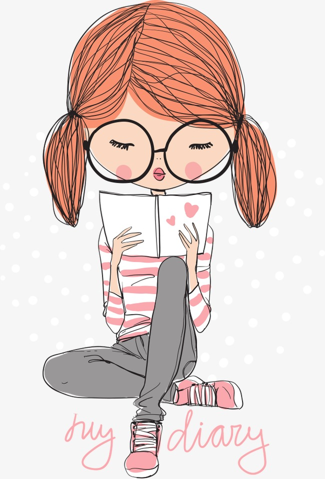 Cute Reading PNG HD - 130800