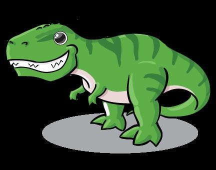 Cute T Rex PNG-PlusPNG.com-432 - Cute T Rex PNG