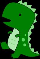Cute T-Rex SVG - Cute T Rex PNG