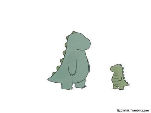 For when Matt and I have a little t-rex of our own. - Cute T Rex PNG
