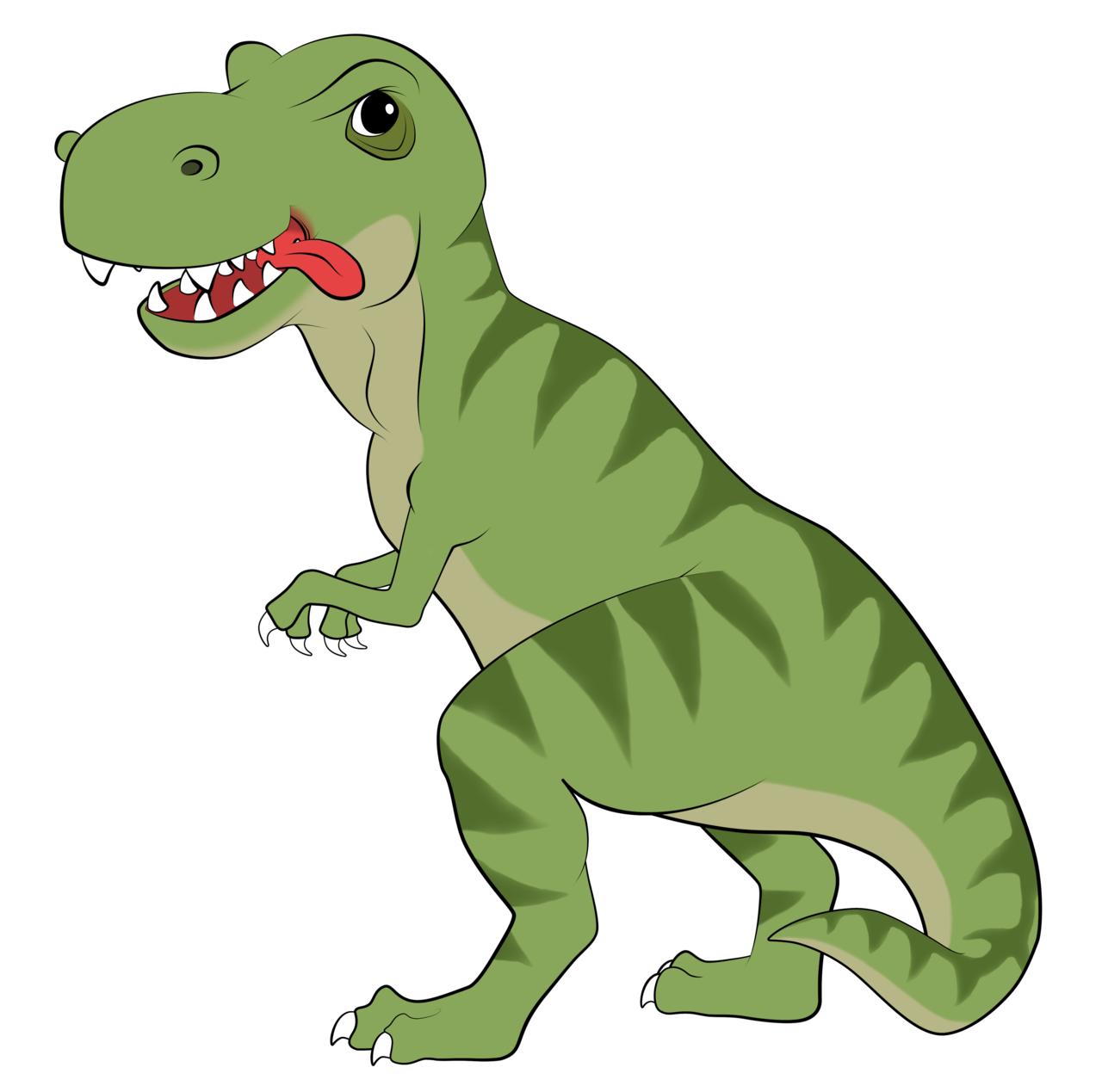 T-Rex Cartoon by EarthEvolution T-Rex Cartoon by EarthEvolution - Cute T Rex PNG