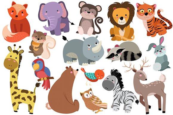 Cute Wild Animal PNG - 160606