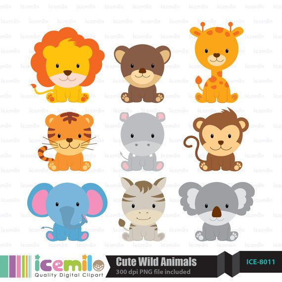 Cute Wild Animal PNG - 160599