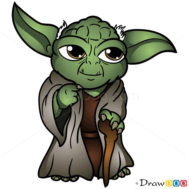Cute Yoda PNG - 40329