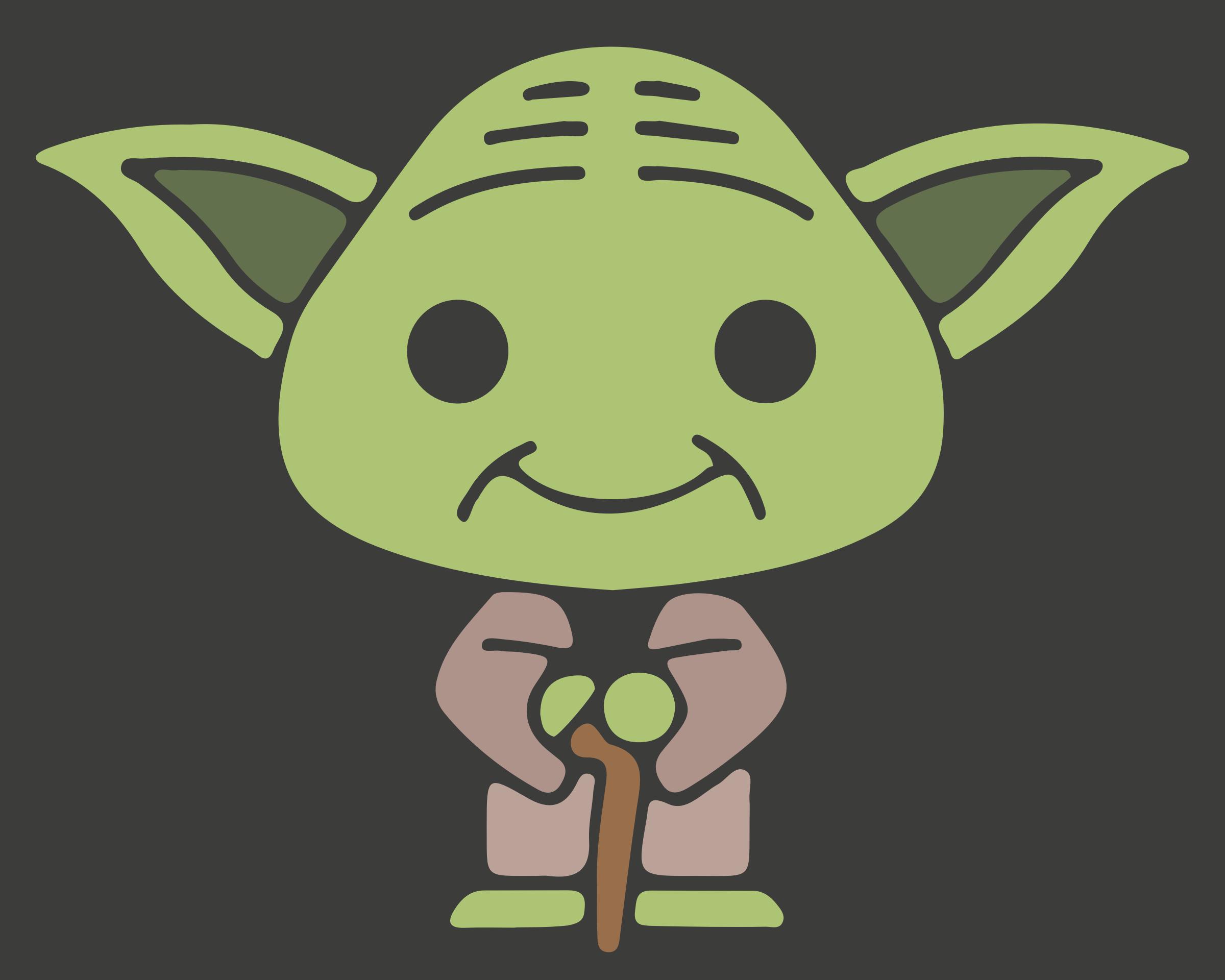 Cute Yoda PNG - 40333