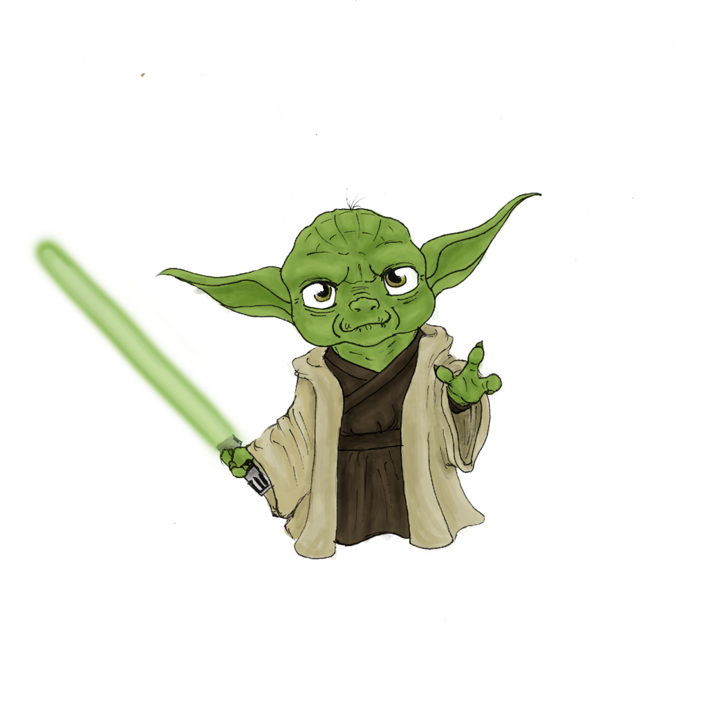 chibi Yoda by minihumanoid chibi Yoda by minihumanoid - Cute Yoda PNG