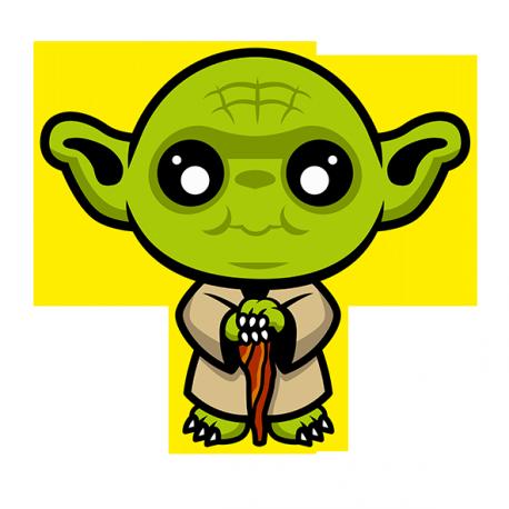 Cute Yoda PNG - 40326