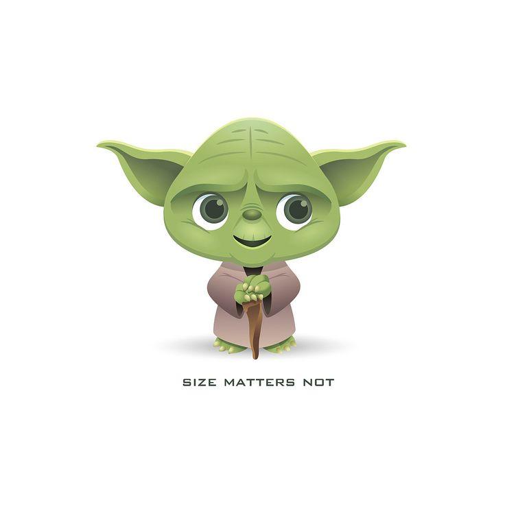 Little Yoda | by Jerrod Maruyama - Cute Yoda PNG