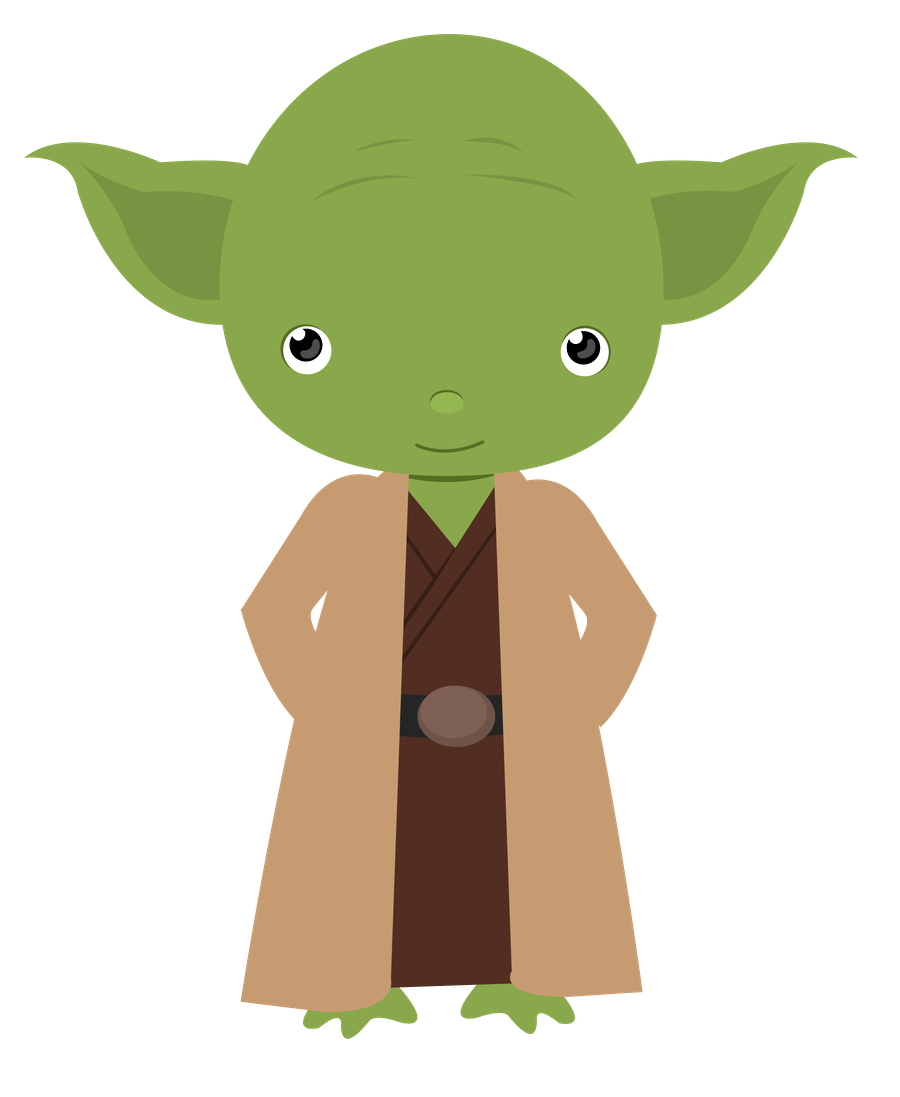 Star Wars - Cute Yoda PNG