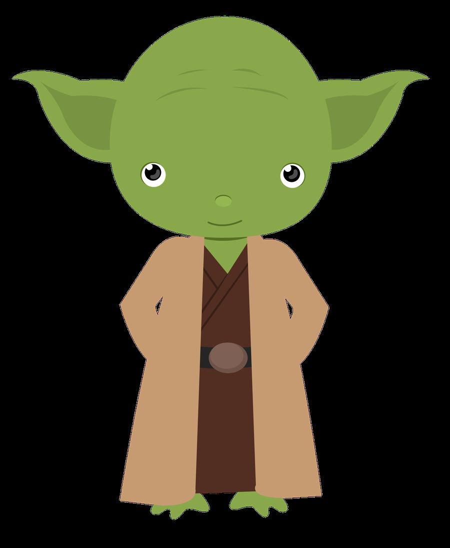 Cute Yoda PNG - 40324