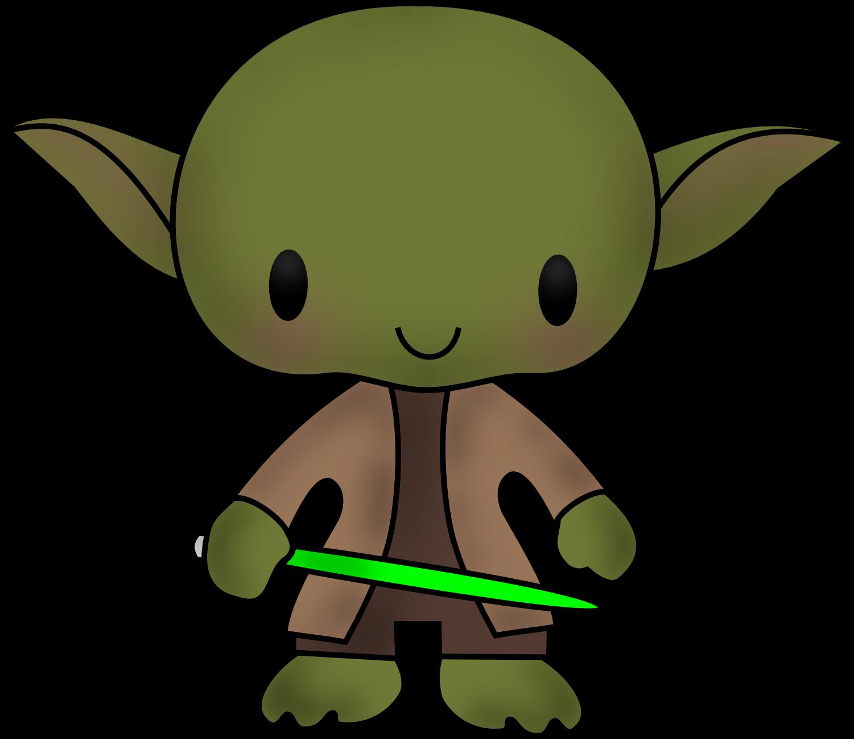 Cute Yoda PNG - 40323