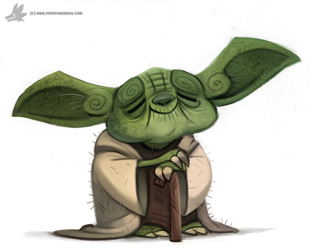 Yoda by Cryptid-Creations - Cute Yoda PNG