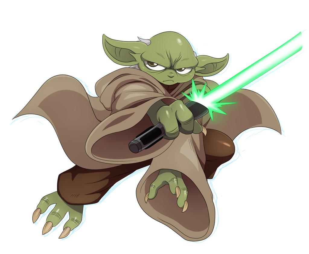 Cute Yoda PNG - 40330