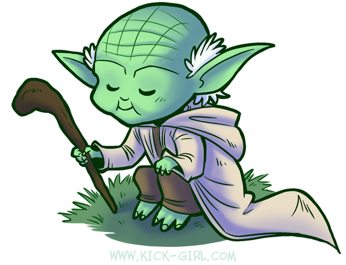 Yoda by valval PlusPng.com  - Cute Yoda PNG