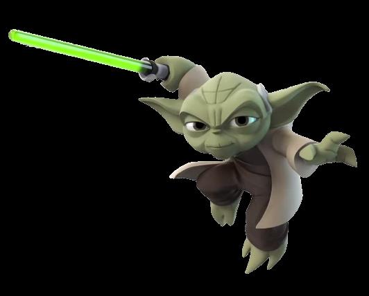 Yoda Disney INFINITY.png - Cute Yoda PNG