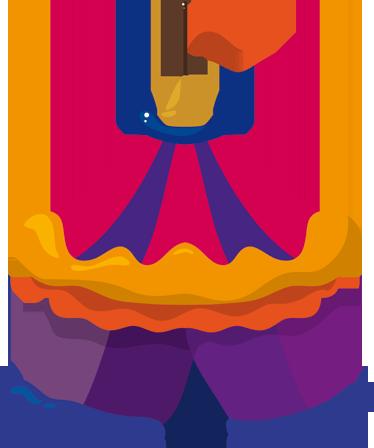 Naklejka dla dzieci cyrk - Cyrk PNG