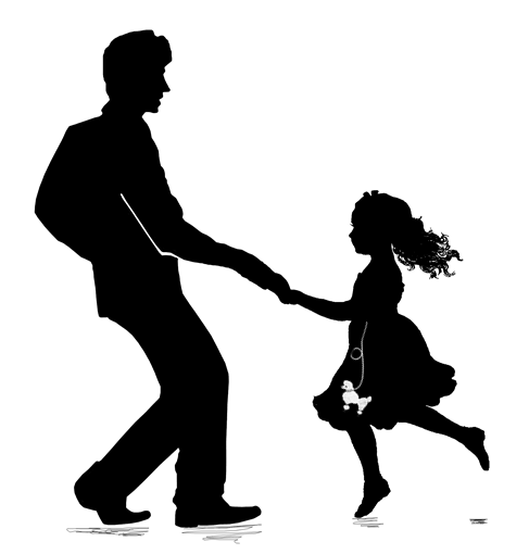 Dad And Daughter PNG-PlusPNG.com-487