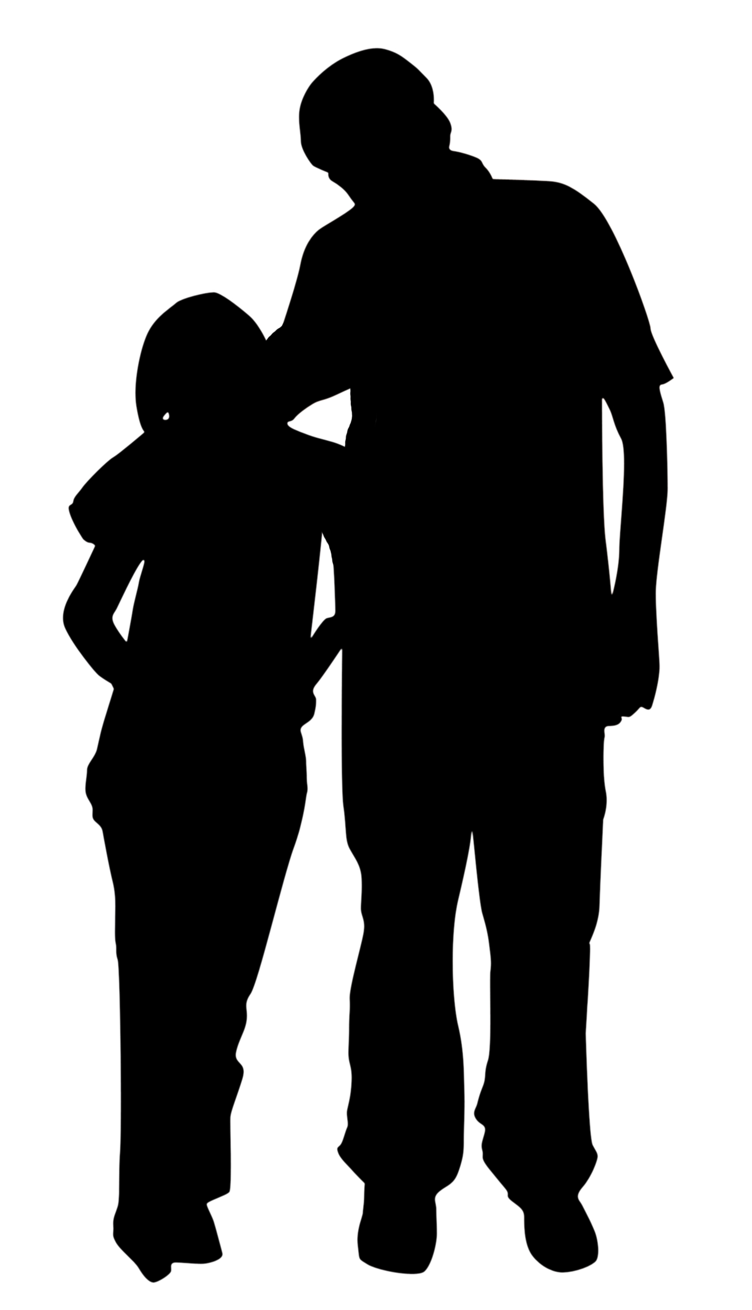 Father Daughter Dance Silhouette Png - Dad And Daughter PNG