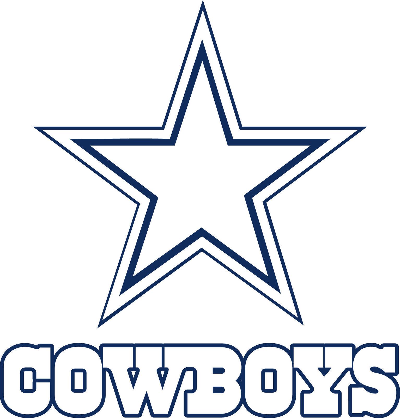 Dallas Cowboys Logo Drawings