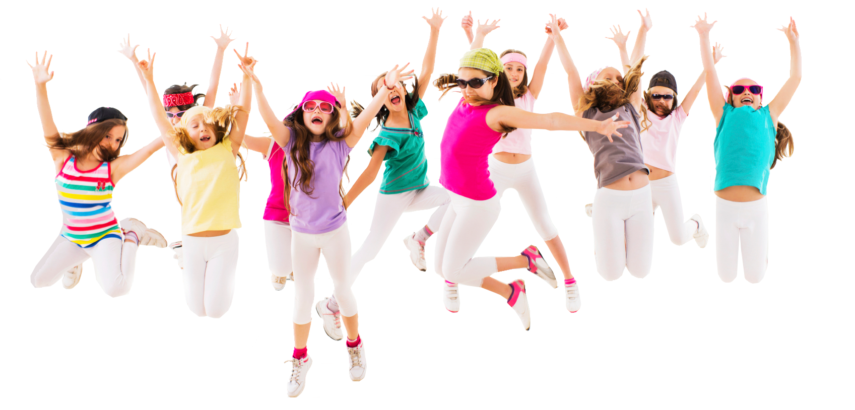 Dancing Kids PNG HD
