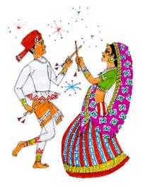 Dandiya PNG HD - 137335