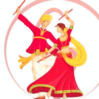Dandiya Raas Fest 2016 - Shopping, Food, Dance - Dandiya PNG HD
