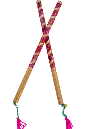 dandiya sticks clipart 6