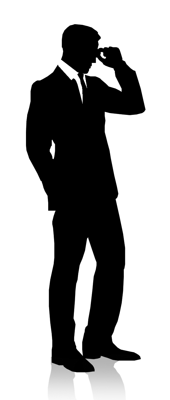 Cool Bussinesman Gentleman Clipart - Dapper Gentleman PNG